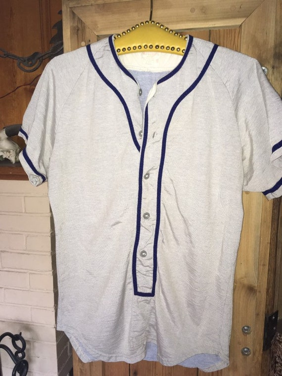 1950s wilson baseball jersey excellent condition