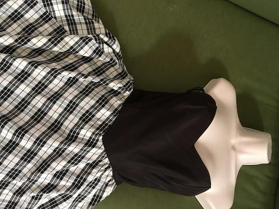 Strapless Gunne Sax Dress