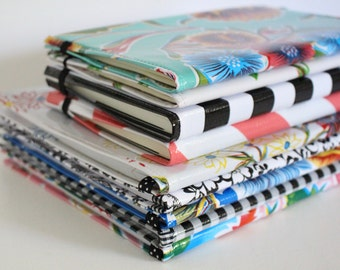 Moleskine Cover - Oilcloth Notebook Journal Cover