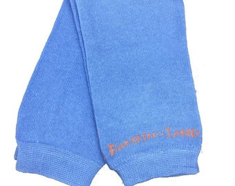 Blue Leg Warmers