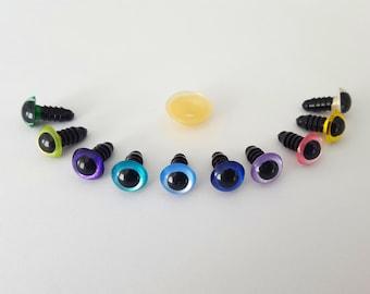 5 pairs 12 mm pearl eyes