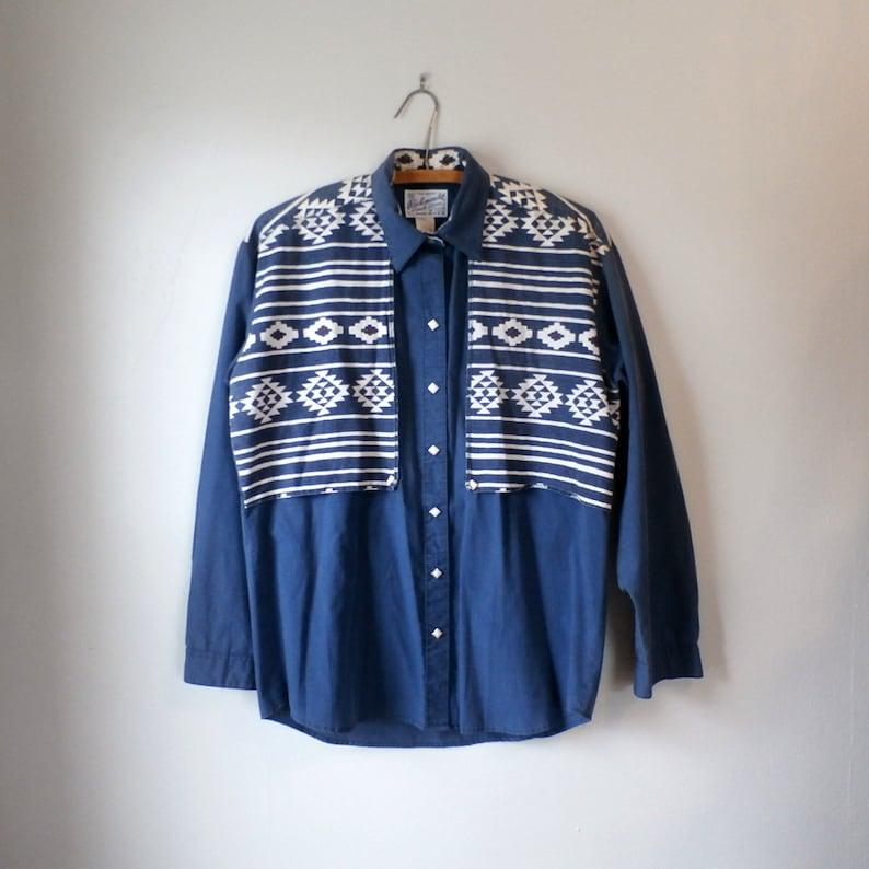 85bb640aad Men s Vintage Rockmount Ranch Wear Western Shirt Pearl