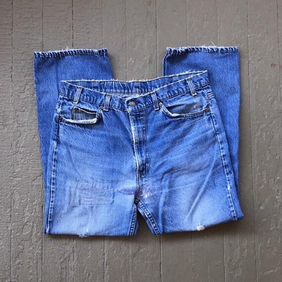 Vintage 70s 80s Levi's Denim Jeans / Levi Strauss