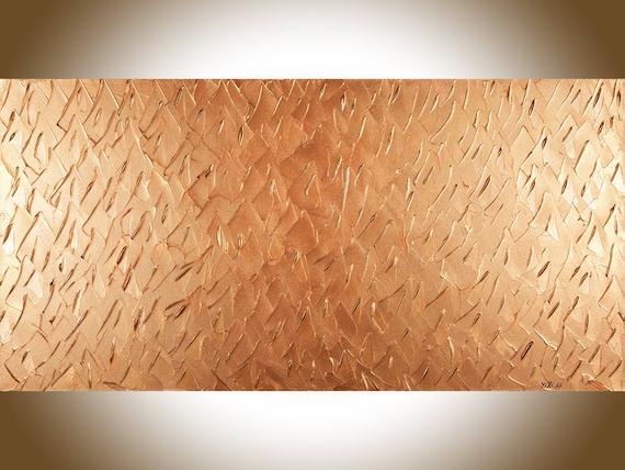 Copper art copper home decor wall decor Copper wall art large | Etsy
