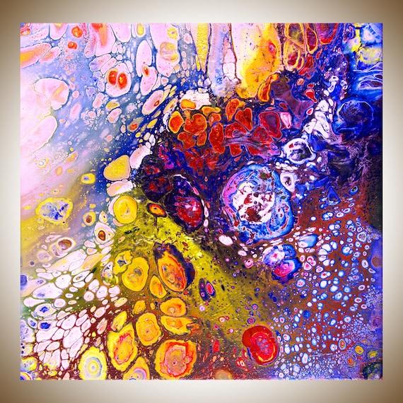 Digital Download Colourful Abstract Art Original Artwork Home Etsy