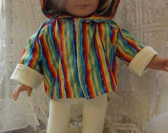 Reversible Hoodie Pattern for AG Dolls