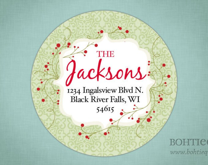 Holiday Cards and Labels