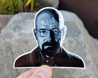 Walter White - Heisenberg - Breaking Bad - Sticker