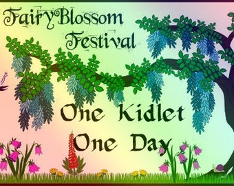 KID 1 DAY Pass to FAIRYBLOSSOM Festival Midsummer Games, June 29 - Jul 1, 2018, Fairy, Pirate, Mermaid, Fantasy, Faire