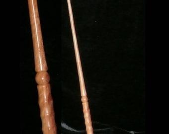 OLIVE MAGIC Wand,  Generosity - Forgiveness - Peace - Calm Restless Dead - Handmade, Pagan, Wicca, WIZARD, Fairy, Druid, Potter
