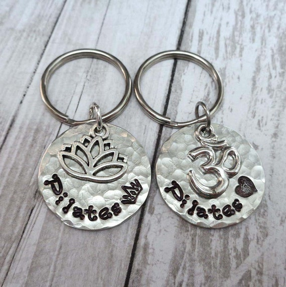 Pilates Love Keychain - Pilates Gift - Pilates Queen Key ring - Pilates Princess Gift - Workout Gift