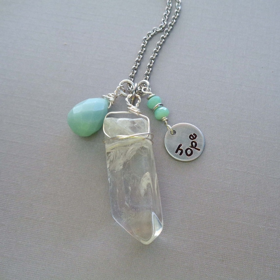 Never Lose Hope / Uplifting Keychain / Quarantine Friends Gift / Keep Hope Alive Stones / Healing Crystals //IK9
