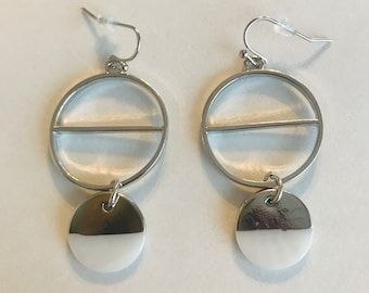 Moon Stages Dangle Earrings