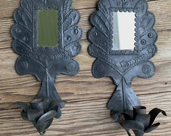 French Pair of Antique Sconces