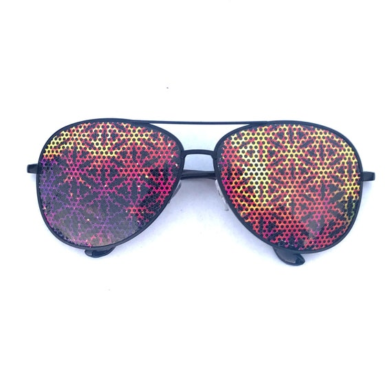 other Frame styles are avaible Multicolor Flower of life  Geometric Aviator Sunglasses