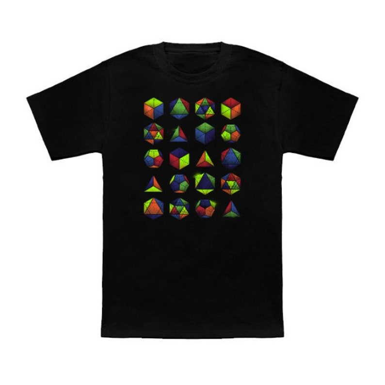 Sacred Geometric Shapes & Colors Unisex Ladies Graphic image 0