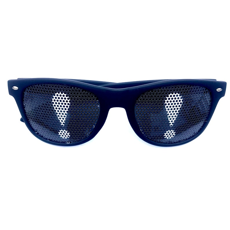 Exclamation mark black Warfarer Sunglasses image 0