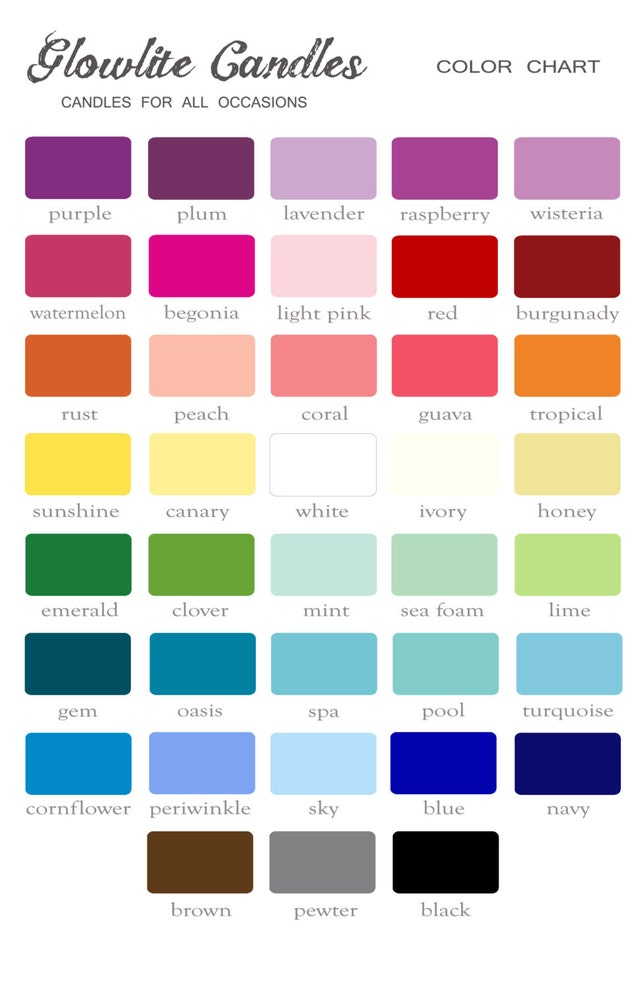 Round Floating Wedding Candles Spa Color Set Of 12 Or Choose Your