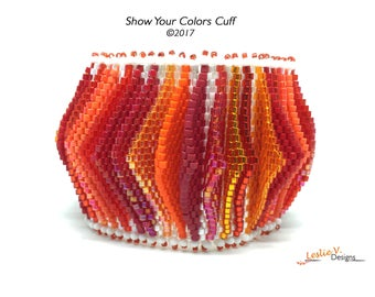eTutorial Only - Show Your Colors Cuff