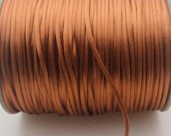 10 Yards 3 mm Luggage Satin Rattail Cord