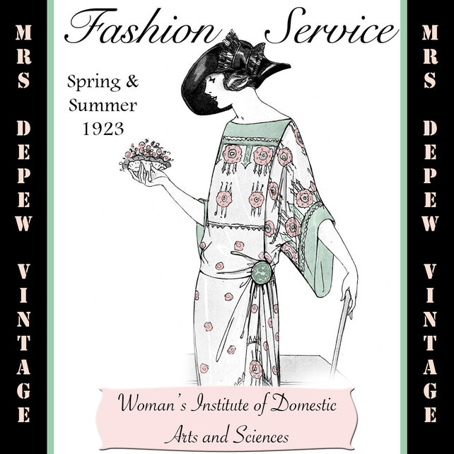 Ebook de confección revista Vintage costura libro primavera y | Etsy