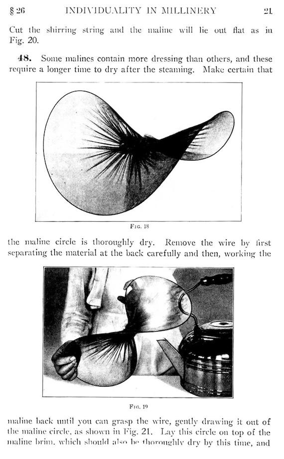 Costura Vintage libro individualidad de 1920 en la fabricación | Etsy