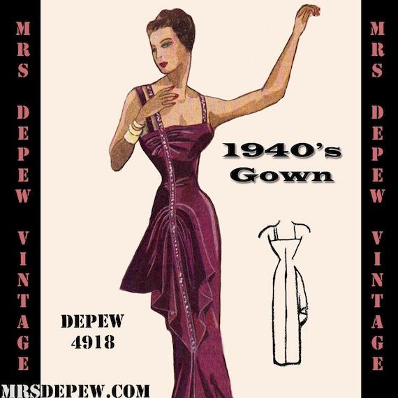 1940s Evening Dresses Cheap