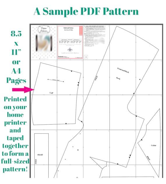 Original Garment Pattern Size S 1950s Overlapped Pin Up Style Suspender Garter Belt Garment Pattern PDF
