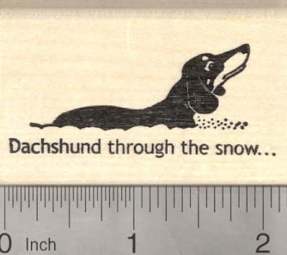 Christmas Holiday  J5311 WM Dog and Cat Peace on Earth Rubber Stamp