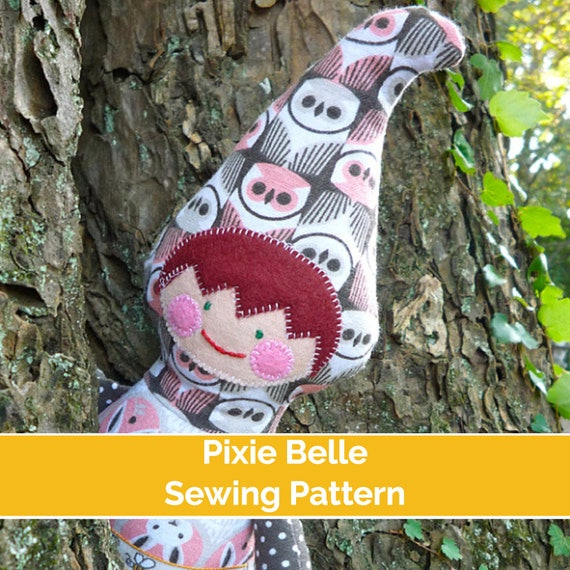 Pixie Belle Pdf Sewing Pattern Elf Sewing Pattern Pixie Etsy