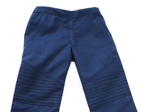 "Moto Pants for 18"" Boy Dolls such as American Girl"