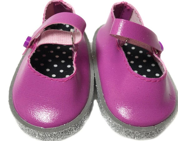 "Mary Jane Shoes for 18"" Dolls. A111"