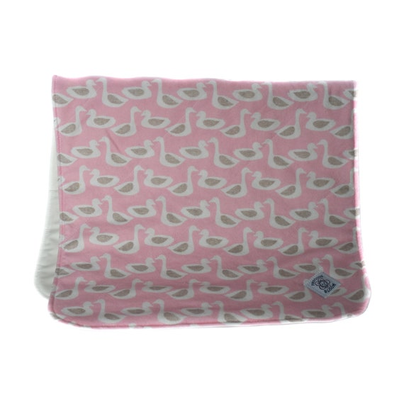 "Organic Baby Gift - Organic Diaper Change Pad - Organic Cotton ""Waterproof"" Change Pad for Your Baby's Diapering Needs: Ducks Pink or Yellow"
