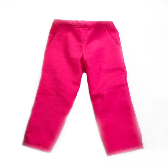 "Cotton Trousers (Pants) for 18"" Dolls. A123"