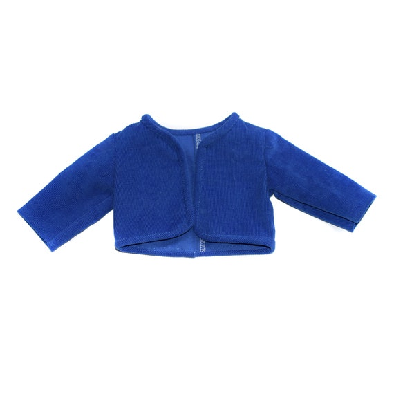 "Cotton Corduroy Jacket for 18"" Dolls. A123"