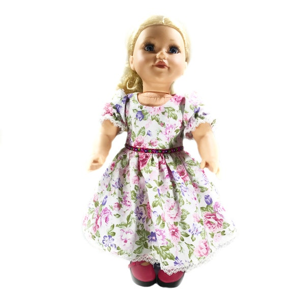 "Sleeveless Party Dress for American Girl and Other 18"" Dolls"