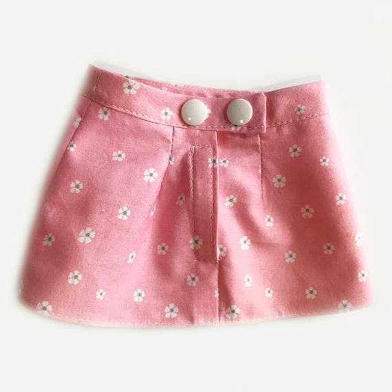 """Fitted Skirt for American Girl Type Dolls with Narrow Waist (10"""")"""