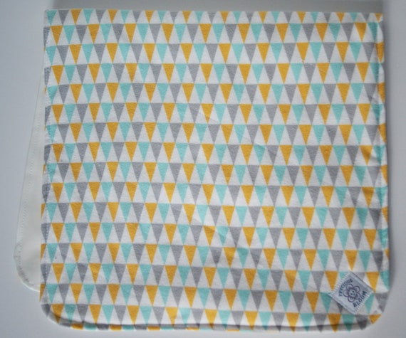 Organic Cotton Flannel Waterproof Change Pad for Your Baby's Diapering Needs: Bunting. B106