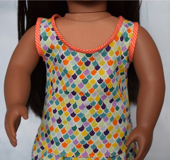 "American Girl Doll Clothing - Doll Clothing - Girl Gift - Sleeveless Cotton Top or Blouse for 18"" Dolls"