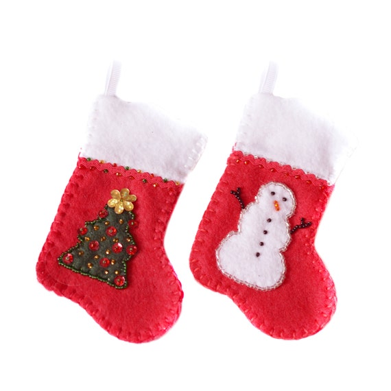"Christmas Stockings for Your 18"" Doll. A127"