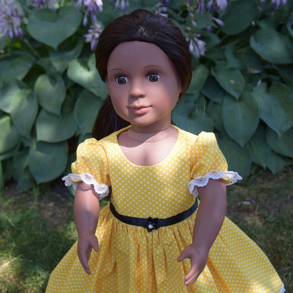 "Precious Bloom's Hand-made Party Dress for 18"" Dolls. A103"
