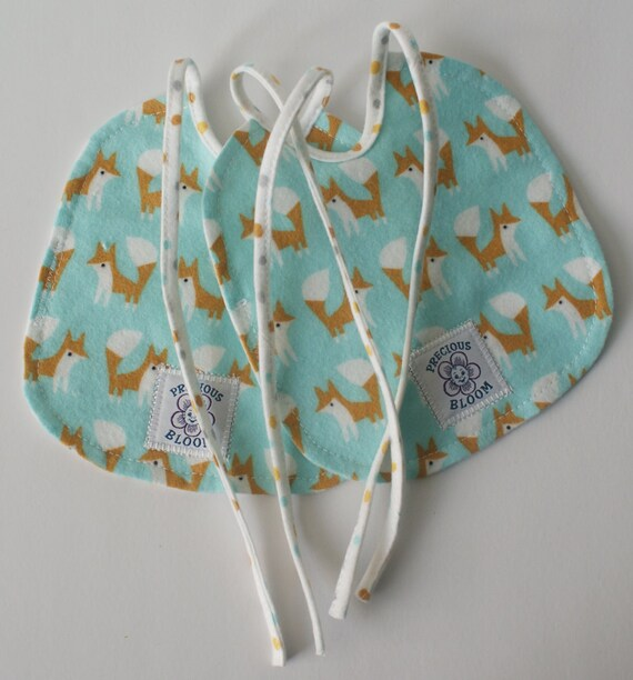 So Soft Organic Bibs - Small