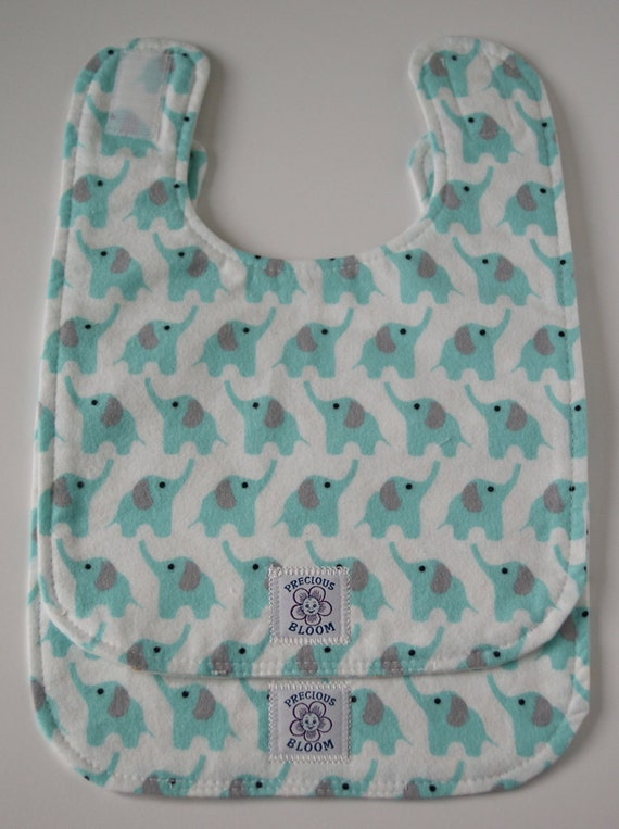 So Soft Organic Reversible Bibs - Large (Set of 2)