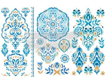 Artisinal Tile – 3 SHEETS, 6″X12″ - ReDesign with Prima Decor Transfer®