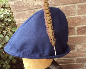 5e69bc11fbf Robin Hood style hats--choose your color-- orange