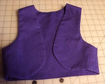 KIDS  Aladdin vest  only  sizes 2,4,6,8