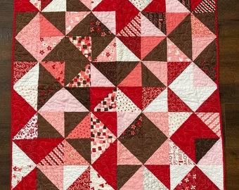 Sweetheart Baby Quilt