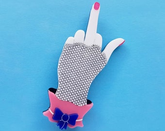 Fancy Hand - The Finger Brooch