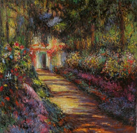 Percorso In Giardino Di Monet A Giverny Claude Monet