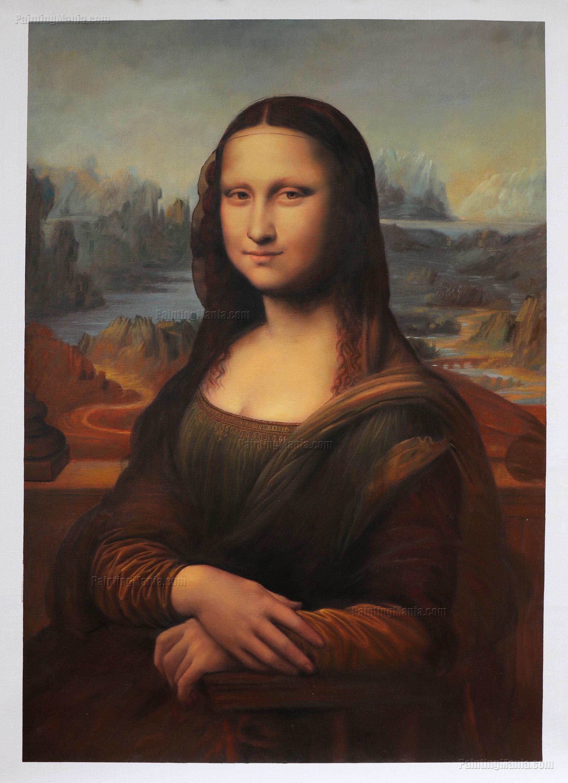 Mona Lisa La Gioconda Leonardo da Vinci hand-painted oil ... Da Vinci Mona Lisa